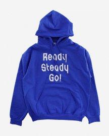 Ready Steady Go! Standard Logo Parker   Royal Blue/Cool Grey