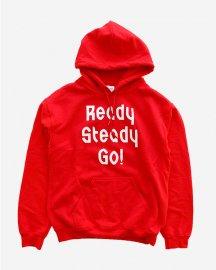Ready Steady Go! Standard Logo Parker   Red/White