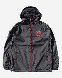 Ready Steady Go! Standard Nylon Hooded Jacket   Black/Red