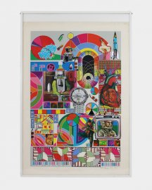 BASH (grey) by EDUARDO PAOLOZZI