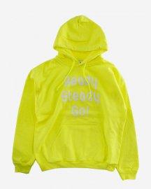 Ready Steady Go! Standard Logo Parker   Safety green/White