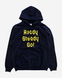 Ready Steady Go! Standard Logo Parker   Navy/Yellow