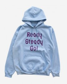 Ready Steady Go! Standard Logo Parker    Light blue/Burgundy