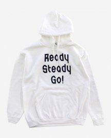 Ready Steady Go! Standard Logo Parker   White/Navy