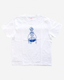 Ready Steady Go! Earth Logo T-shirt White/Blue
