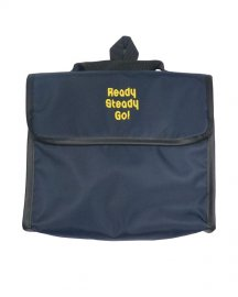 「Ready Steady Go!」×「渋谷直角」Exclusive Bag 7inch Navy / Yellow