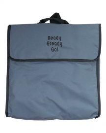 「Ready Steady Go!」×「渋谷直角」Exclusive Bag 12inch Gray / Black