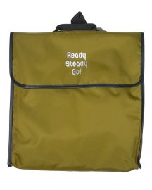 「Ready Steady Go!」×「渋谷直角」Exclusive Bag 12inch Khaki / White