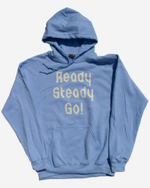 Ready Steady Go! Standard Logo Parker  Light blue/Winter white