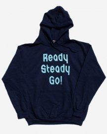 Ready Steady Go! Standard Logo Parker  Navy/Light blue