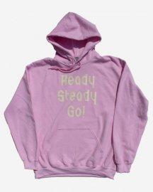 Ready Steady Go! Standard Logo Parker  Light pink/Winter white