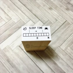睡眠時間チェック SLEEPTIMEメモリ付き