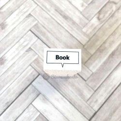 四角吹き出し Book