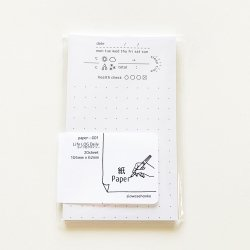 paper-001 M5サイズペーパー Life LOG Daily(20枚)