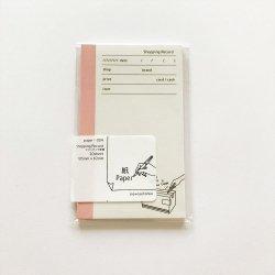 paper-004 M5サイズペーパー Shopping Record(20枚)