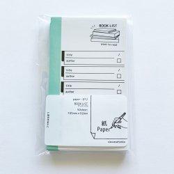 paper-012 M5サイズペーパー BOOK LIST(50枚)