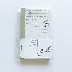 paper-013 M5サイズペーパー Book Review(50枚)