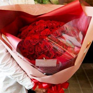 【佐賀市内限定】還暦祝い花束(赤バラ60輪)