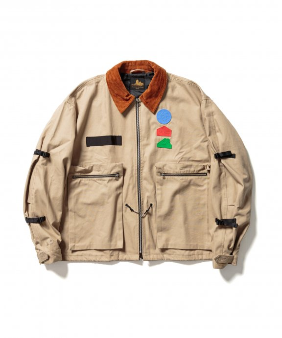 COVERALL (BROWN)