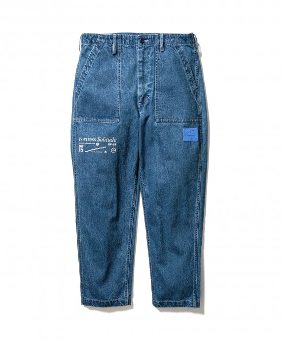 <img class='new_mark_img1' src='https://img.shop-pro.jp/img/new/icons35.gif' style='border:none;display:inline;margin:0px;padding:0px;width:auto;' />BAKER PANTS (WASH BLUE)