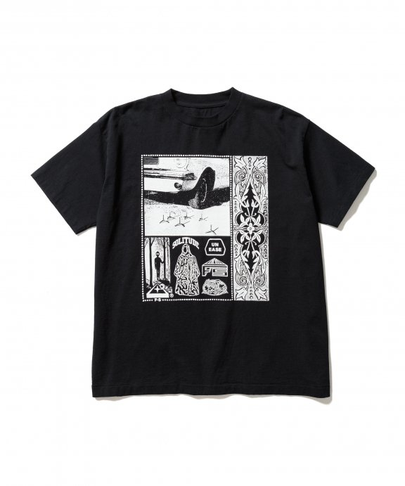 REVRSIBLE S/S Tee (BLACK)