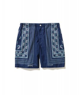 BANDANA SHORTS (NAVY)