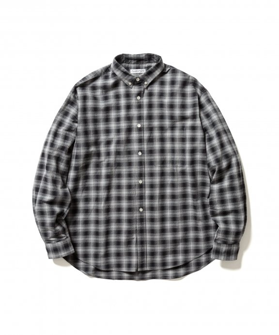 ORIGINAL CHECK L/S SHIRTS (BLACK)