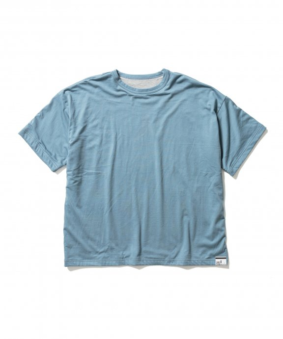 <img class='new_mark_img1' src='https://img.shop-pro.jp/img/new/icons35.gif' style='border:none;display:inline;margin:0px;padding:0px;width:auto;' />REVERSIBLE S/S Tee (BLUE×GRAY)