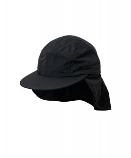 SUN SHADE CAP (BLACK)
