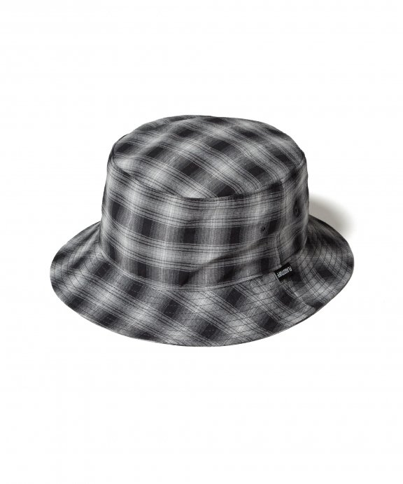 ORIGINAL CHECK HAT (BLACK)