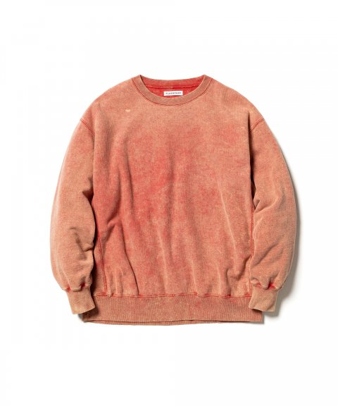 CHEMICAL WASH SWEAT (RED)