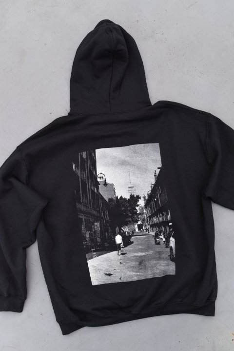 <img class='new_mark_img1' src='https://img.shop-pro.jp/img/new/icons14.gif' style='border:none;display:inline;margin:0px;padding:0px;width:auto;' />「OBREGON CIUDAD DE MEXICO」HOODIE (BLACK)