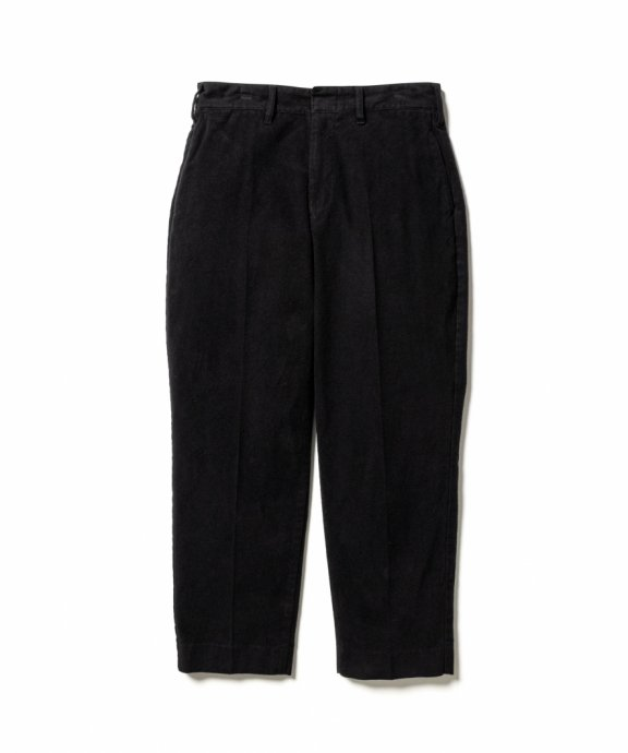 <img class='new_mark_img1' src='https://img.shop-pro.jp/img/new/icons14.gif' style='border:none;display:inline;margin:0px;padding:0px;width:auto;' />LOOSE ST PANTS (MOLE SKIN/BLACK)