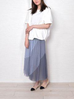 MICALLE MICALLE (ミカ—レミカ—レ) シフォン プリーツ スカート