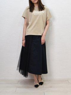 PASSIONE (パシオーネ) サイドチュール 切替 スカート
