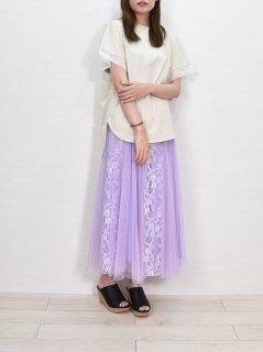 MICALLE MICALLE (ミカーレミカーレ) レース 切替 スカート
