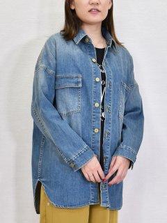 C.C.CROSS (シーシークロス) スラウチ シャツジャケット