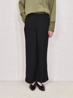 ROSIEE (ロージー) 裾スリット ワイドパンツ