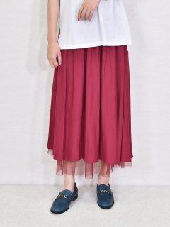 Dignite collier(ディニテコリエ)チュールレイヤードスカート