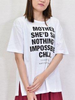 AGNOST (アグノスト) 裾カッティング Tシャツ