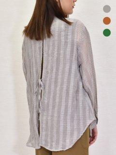 MICALLE MICALLE (ミカーレミカーレ) 胸ポケット付 チェックブラウス