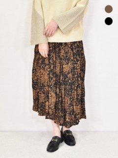 MICALLE MICALLE (ミカーレミカーレ) 柄 ギャザースカート