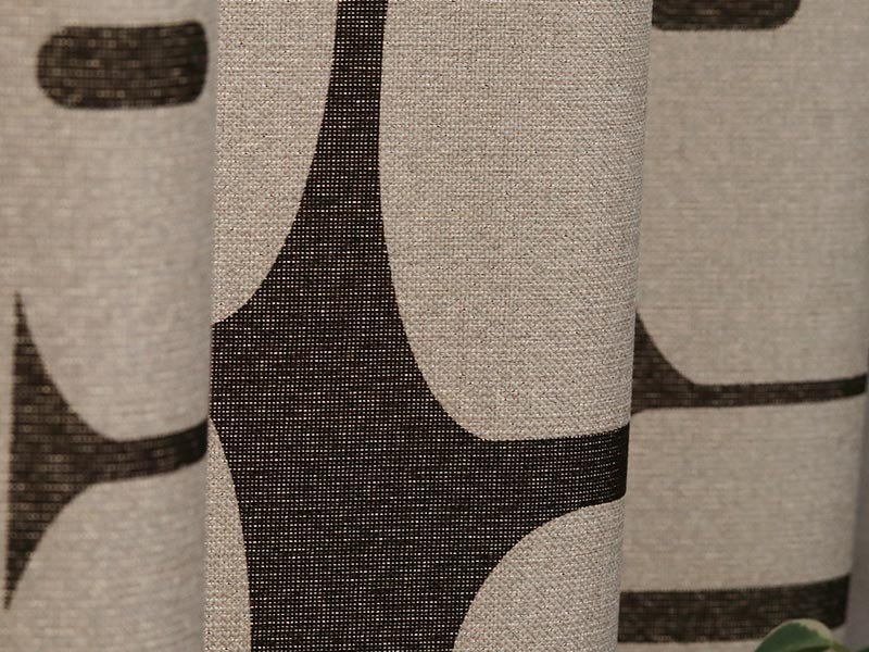100サイズから選べる!自然をモチーフにしたカッコイイ北欧デザインカーテン 『エミィ』