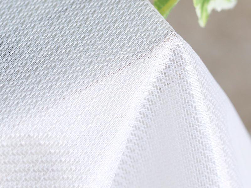 ミラー効果・花粉キャッチ・UVカット!洗える高機能シンプルレースカーテン『イエット』