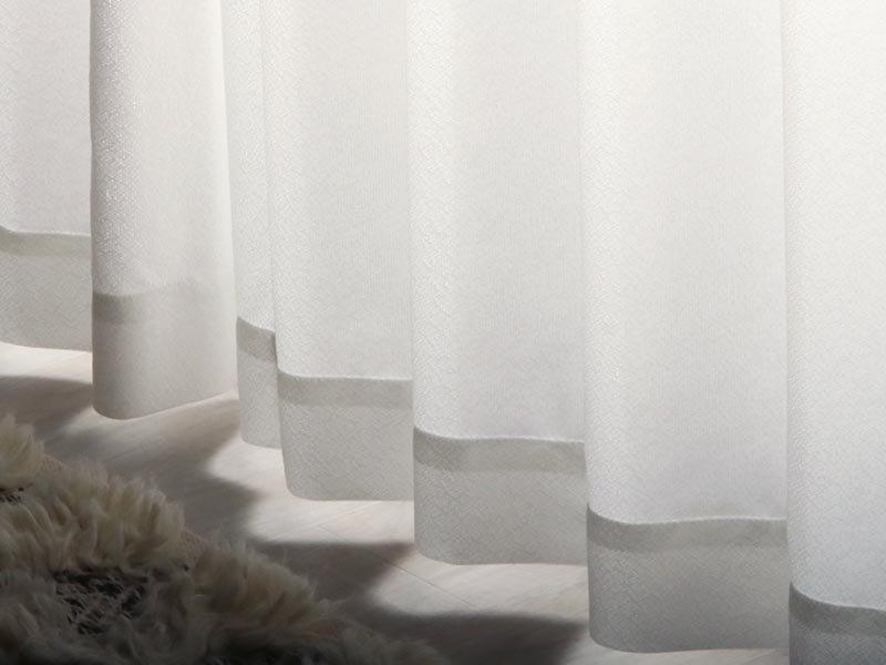 外から見えにくく一年中快適省エネ!日本製レースカーテン 『エアリ』
