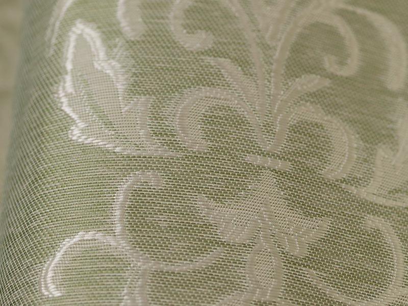 100サイズから選べる!裏地付き2級遮光の既製カーテン 『セレガ グリーン』
