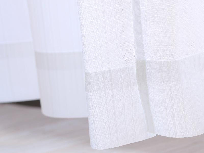 高機能!光は取り入れ、視線や紫外線・熱はカットできるレースカーテン 『ストープ』