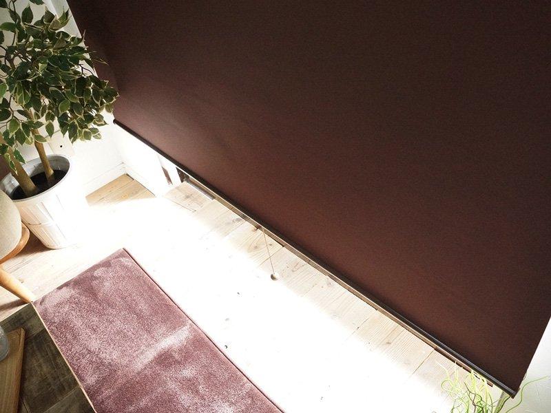 【当店オリジナル】激安!オーダーロールスクリーン 標準(一級遮光)タイプ チェーン式■グレージュ欠品中