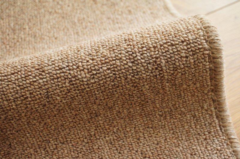 国産・抗菌防臭 ウール100%カーペット 『ウールベスト/ベージュ』 江戸間6畳 261x352cm
