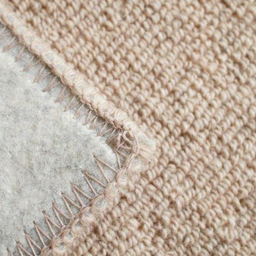 【特価】100サイズ夏涼冬暖・清潔・抗菌・防ダニ・防炎・羊毛100%『ウーリー ブラウン』